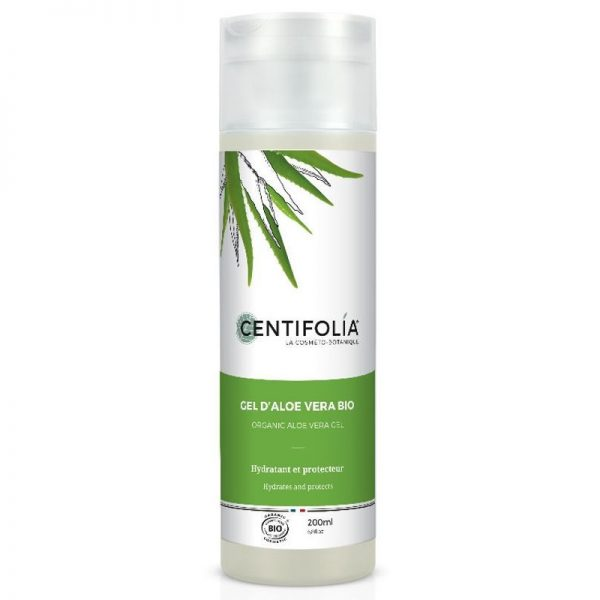 Gel Aloe Vera biológico, 200ml, Centifolia