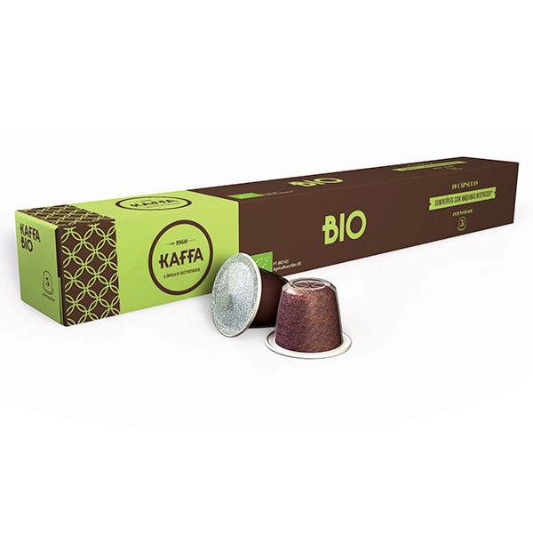 café biológico em cápsulas, máquina Nespresso
