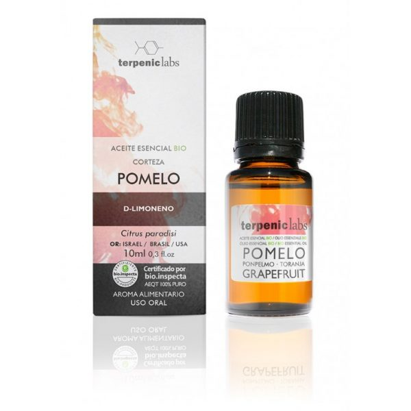 óleo essencial de toranja, 10ml, terpenic labs