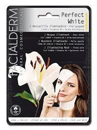 Máscara branqueadora em tecido Perfect White
