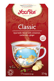 chá Classic, 17 saquetas, yogi tea