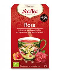 chá de rosa, 17 saquetas, yogi tea