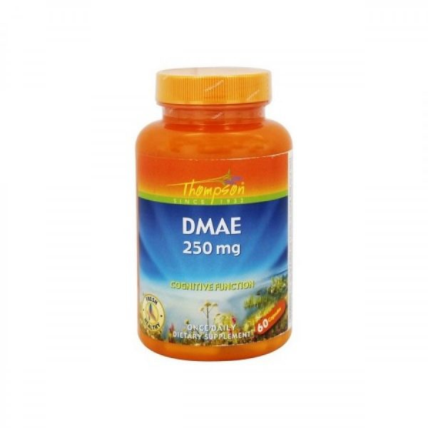 DMAE 200mg, 60 cápsulas, Thompson