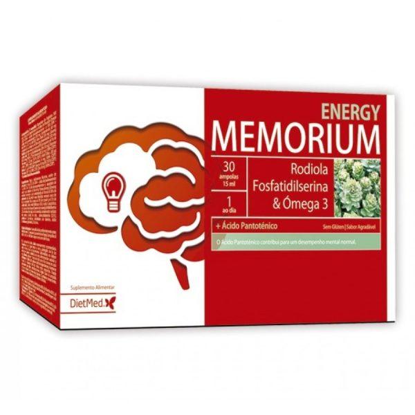 Memorium Energy, ampolas para memória, Dietmed