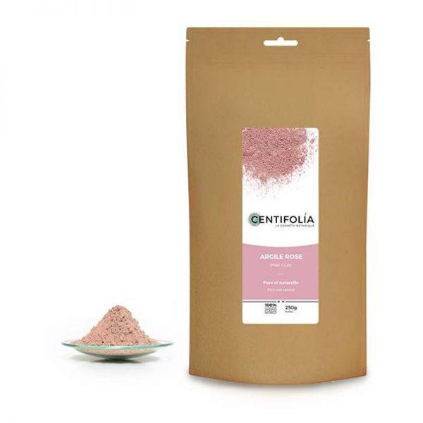 argila rosa pura, em pó, 250g, Centifolia