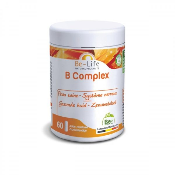 Complexo B, 60 cápsulas, Be-life