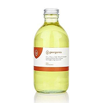 Elixir oral natural, c/óleo de coco e tangerina, 300ml