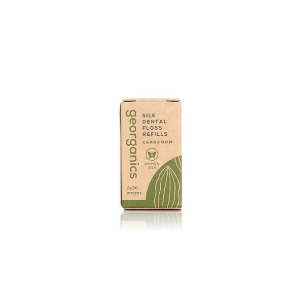 a3e45c203 Recarga de Fio dentário natural em bambu com cardamomo