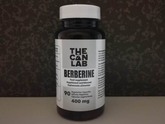 Berberina em cápsulas, The Can Lab
