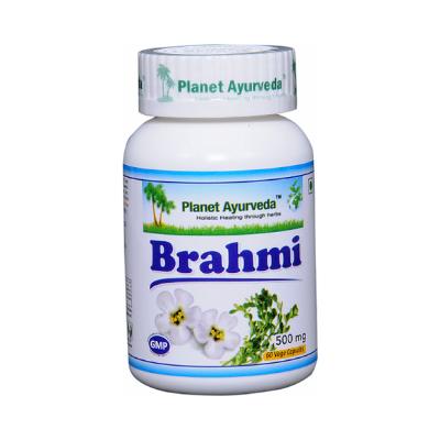 Brahmi em cápsulas vegetais