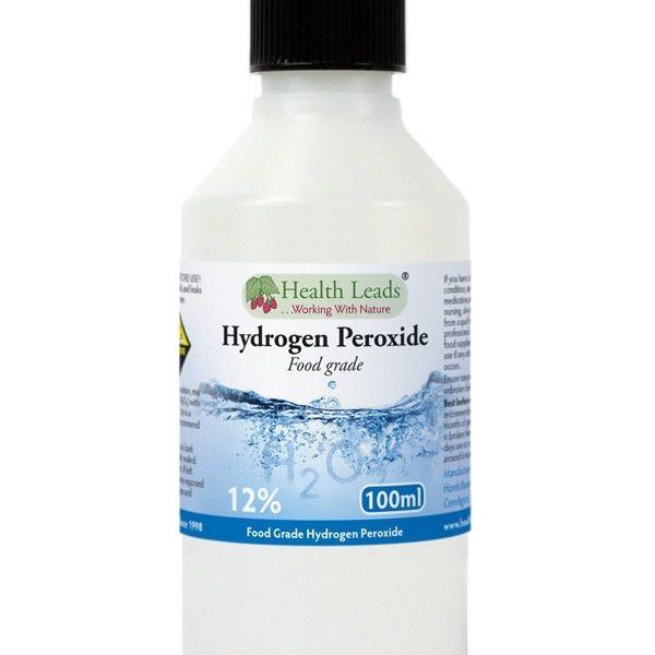 Peróxido de hidrogénio para limpeza e desifeção