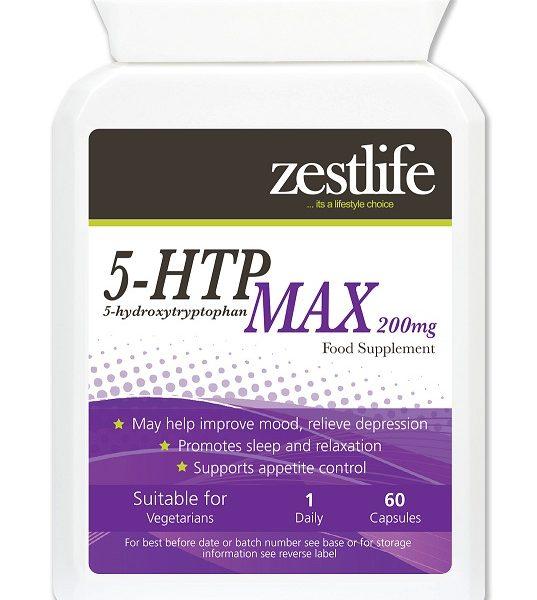 Cápsulas de 5HTP, para dormir melhor e acalmar sistema nervoso de forma natural